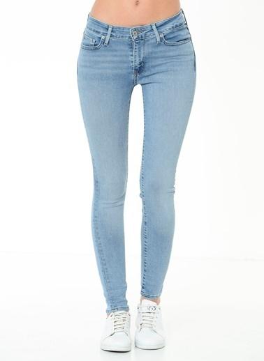 Levi's® Jean Pantolon | 711 - Skinny Mavi